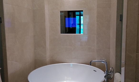 旷世浴室防水电视真心好用!