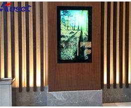 金鸡湖大酒店大厅镜面嵌入式电视应用案例
