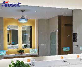 广西桂林卫生间镜面广告机生产厂家