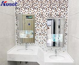 江苏昆山厕所镜面广告机生产厂家