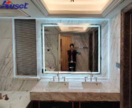 江苏南通卫生间到大镜面智能魔镜生产厂家