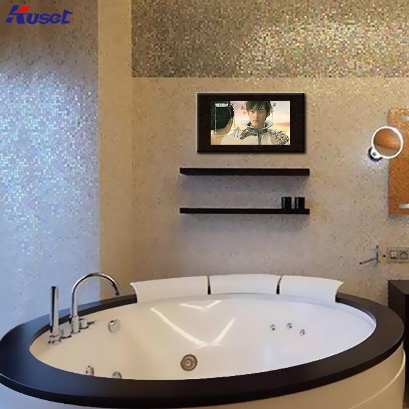 高清32寸圆形浴缸前镜面电视