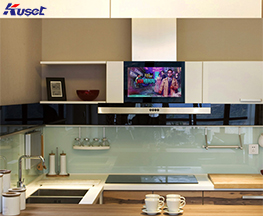 高清15寸厨房镜面电视