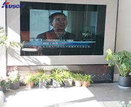 高清70寸客厅镜面电视