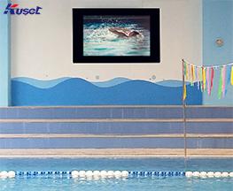 高清42寸游泳池镜面电视