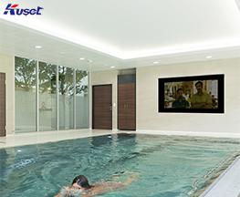 高清70寸游泳池镜面电视